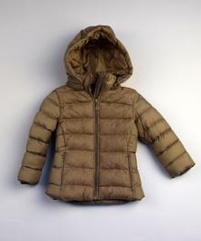 Детско есенно яке - EMMA - тъмно бежово 9-12, 18 и 24 месеца