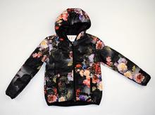 Модно детско пролетно яке - FLORA -  черно за 8 годишни
