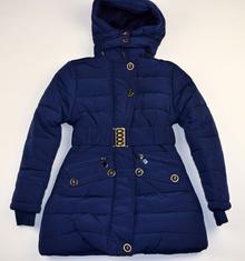 Зимно яке за деца и юноши - AVERY - тъмно синьо от 8 до 16 годишни