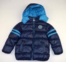 Детско зимно яке - NICHOLAS - тъмно синьо за 6 годишни