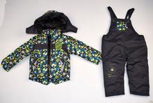 Детски зимен комплект - SPORT CLUB - сив за 12 и 30 месеца