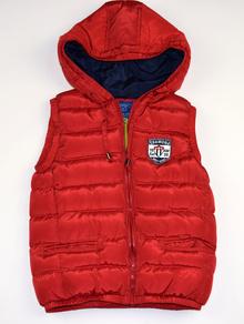 Спортна пролетно - есенна детска грейка - TYLER - червена за 8 годишни