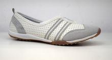 Дамски обувки тип пантофки ЕСТЕСТВЕНА КОЖА - бели