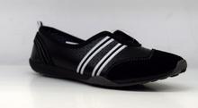 Дамски обувки тип пантофки ЕСТЕСТВЕНА КОЖА - черни