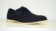 Мъжки обувки НОВ МОДЕЛ - CARLOS - тъмно сини