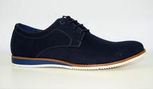 Комфортни мъжки обувки ХИТ МОДЕЛ - MARK-  тъмно сини