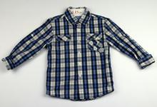Спортно - елегантна риза с дълъг ръкав - GLO - STORY - синя от 4 до 8 г.
