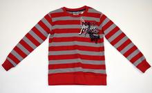 Детска блуза с дълъг ръкав за момче - FOREST - червена за 5 годишни