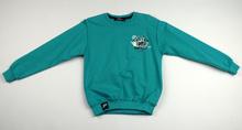 Детска блуза с дълъг ръкав за момче - FREEBTS - синьо - зелена за 6 и 9 годишни