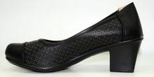 дамски кожени обувки на ток