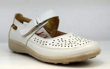 Дамски ортопедични обувки - ALENA - бели
