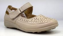 Дамски ортопедични обувки - ALENA - бежови