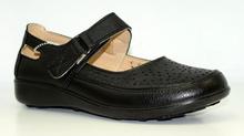 Дамски ортопедични обувки - ALENA - черни