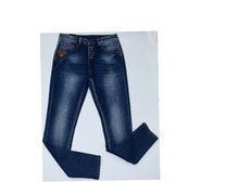 Дамски дънки тип потур - GABRIELLE - тъмно сини