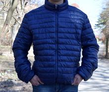 Мъжко пролетно - есенно яке  - MATTHEW- тъмно синьо от 48 до 56 размер