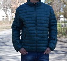 Мъжко пролетно - есенно яке - MATTHEW - маслено зелено от 48 до 56 размер