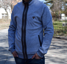 Мъжка спортно - елегантна жилетка - RYAN - светло сива