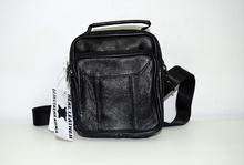 Мъжка бизнес чанта ЕСТЕСТВЕНА КОЖА -JUSTIN - черна