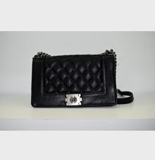 Модна дамска чанта - MONY - черна