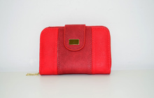 Дамско портмоне - EММA - червено
