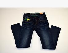 Модни дънки за момчета - ATIVO - тъмно сини за 12 годишн