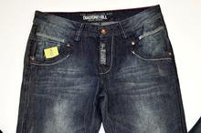 Модни дънки за момчета - MARK - тъмно сини за 16 годишни