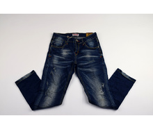 Юношески дънки - ATIVO - тъмно сини от 8 до 16 годишни