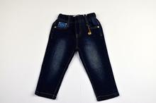 Детски дънки за момичета - AVA - тъмно сини от 1 до 5 годишни