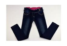 Дънки за момичета - ALSA - тъмно сини за 10 годишни