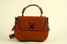 Страхотна дамска чанта - AVA - кафява