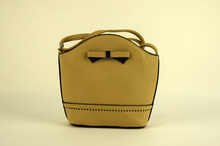 Малка дамска чанта - LILY - бежова