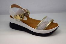 Модни дамски сандали - MIA - бели