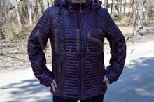 Дамско пролетно яке - ALEXI - тъмно бордо от 48 до 56 размер