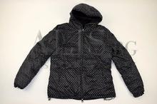 Дамско яке с две лица големи размери - черно
