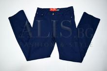 Дамски панталон голям размер - BRIANNA  - тъмно син