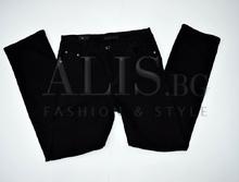 Дамски панталон голям размер - ALYSSA - черни