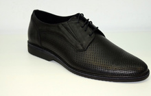 Български мъжки официални обувки - BG - черни