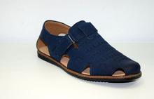 Модни мъжки сандали  - TOP MEN - тъмно сини