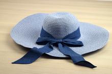 Капела с голяма периферия - LILY - светло синя код - 013 -