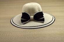 Капела - ELLI - бяла с черна панделка код - 0016 -