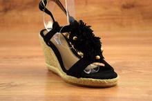Модни сандали - NATALIE - черни