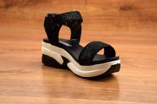 Дамски сандали - SIERRA - черни