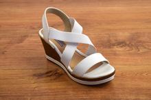 Дамски сандали - WHITE - бели