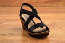 Дамски сандали - BLACK - черни