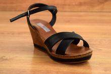 Дамски сандали - ABBI - черни
