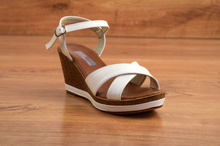 Дамски сандали - SUMMER - бели