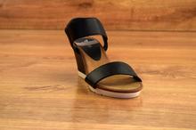 Дамски сандали - GOLD - черни