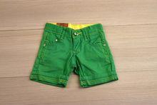 Къси панталони - JEANS FASHION - зелени от 6 до 18 месеца
