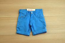 Къси панталони - BOY STUDIO - светло сини от 9 до 18 месеца