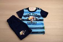 Комплект спортен - ENAT TIOEG - тъмно син за 18 и 30 месечни
